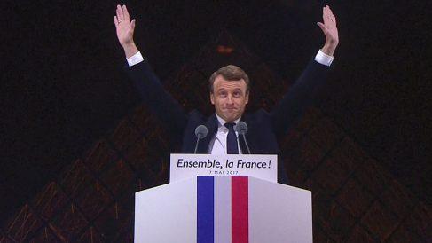 Emmanuel Macron presidente de Francia (Foto: AFP)