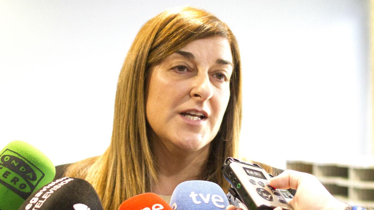 La presidenta regional del PP de Cantabria, María José Sáenz de Buruaga
