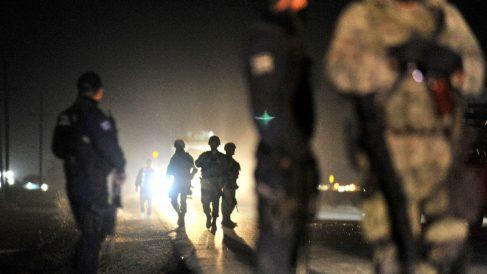 Polícias mexicanos (Foto: AFP).