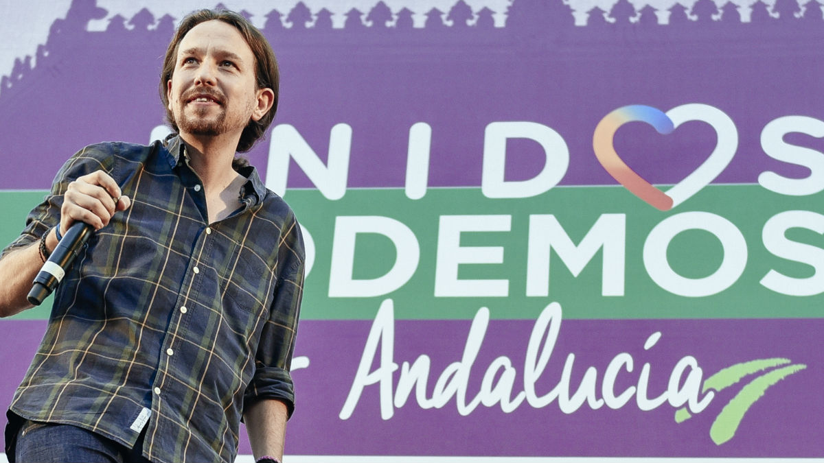 Pablo Iglesias en Andalucía