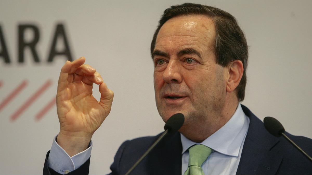 El ex ministro de Defensa y ex presidente del Congreso José Bono. (Foto: EFE)