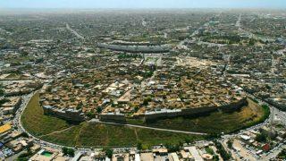 La ciudadela de Erbil (Kurdistán iraquí), el asentamiento humano poblado permanentemente más antiguo del mundo.