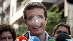 El vicesecretario de Comunicación del PP, Pablo Casado. (Foto: EFE)