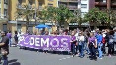 (Foto: Facebook Podemos Alicante)