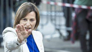 Carme Forcadell, ex presidenta del Parlament. (Foto: AFP)