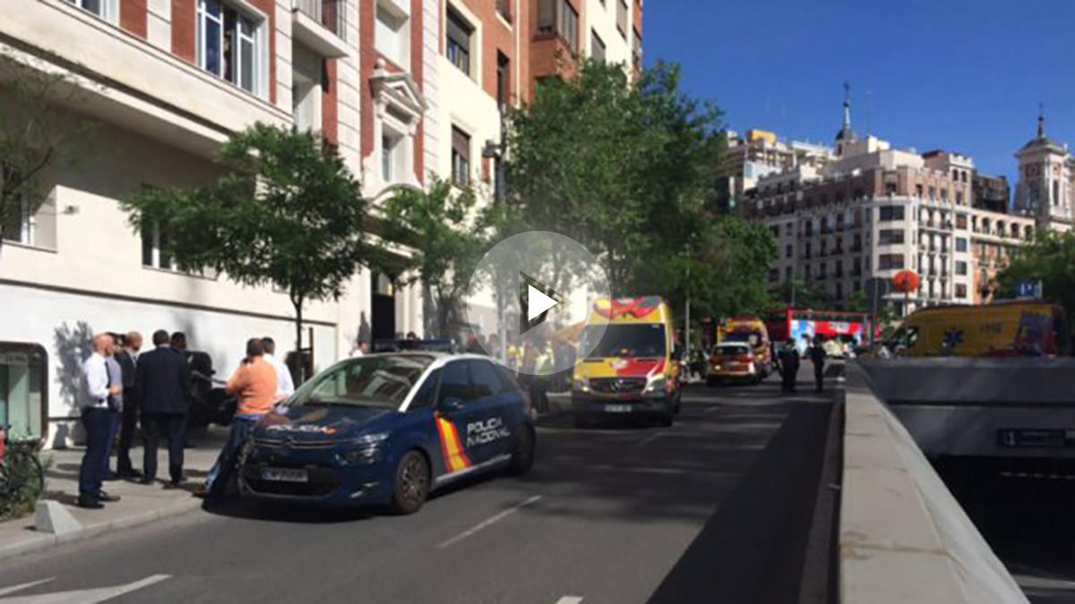 Imagen de la calle Hermanos Bécquer donde dos jóvenes han fallecido