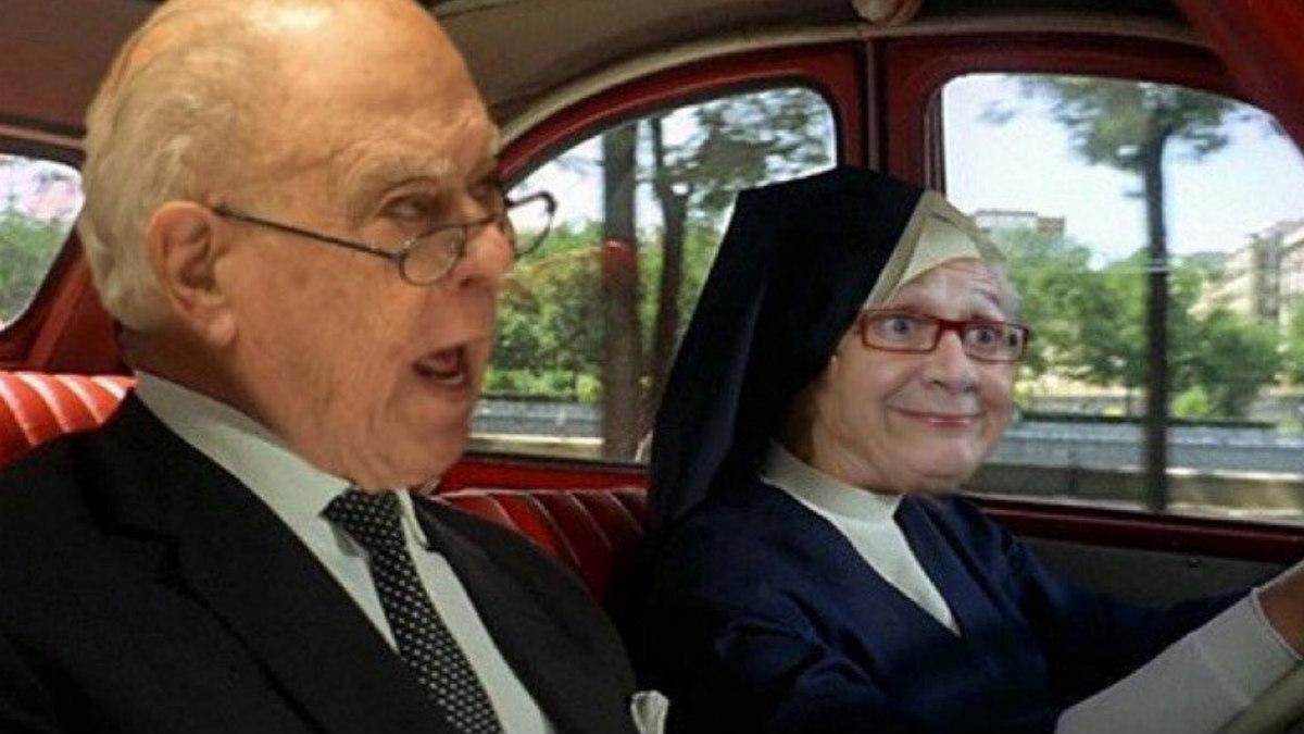 Marta Ferrusola y Jordi Pujol son protagonistas de innumerables meme