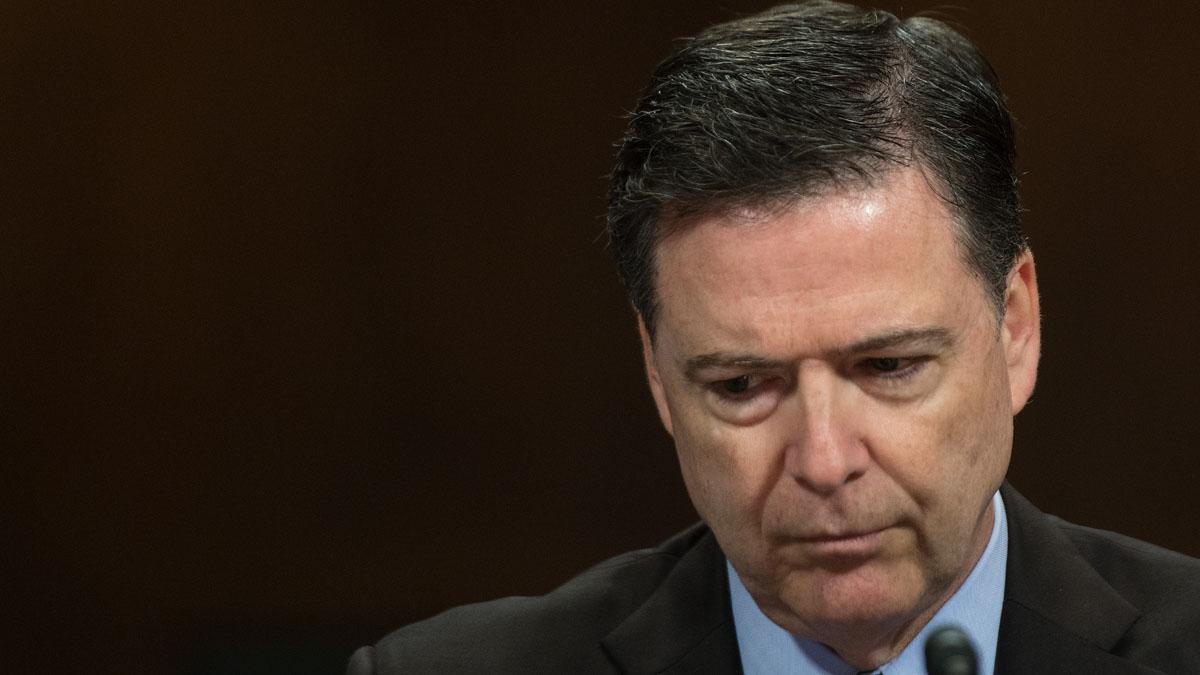 El ex director del FBI James Comey, destituido por Donald Trump. (AFP)