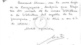 Orden en clave de Marta Ferrusola a su banco en Andorra en 1995. (Foto: EFE)