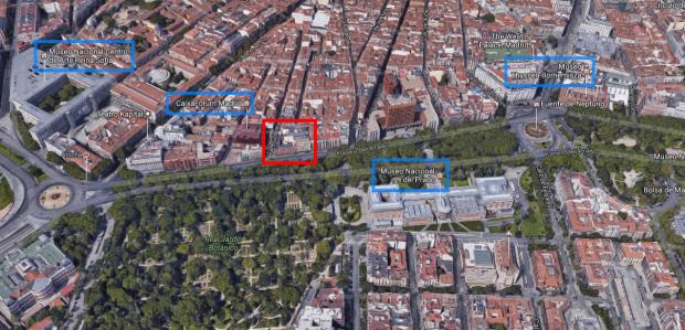 Carmena paga 1,4 millones para rescindir la cesión del edificio histórico ahora okupado en el Prado