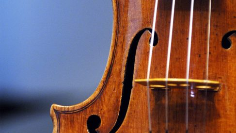 Violín Stradivarius. (Foto: AFP)
