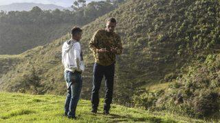Helio Neto y Alan Rushell. (Foto: AFP)