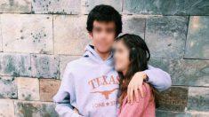 Una foto de la pareja compartida en Internet.