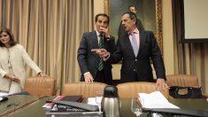 El secretario de Estado de Seguridad, José Antonio Nieto en el Congreso. PACO TOLEDO
