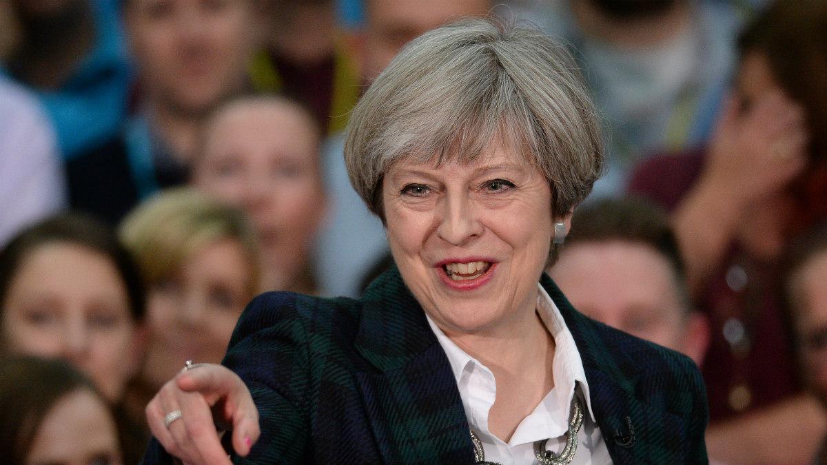 La primera ministra de Reino Unido, Theresa May (Foto:AFP)