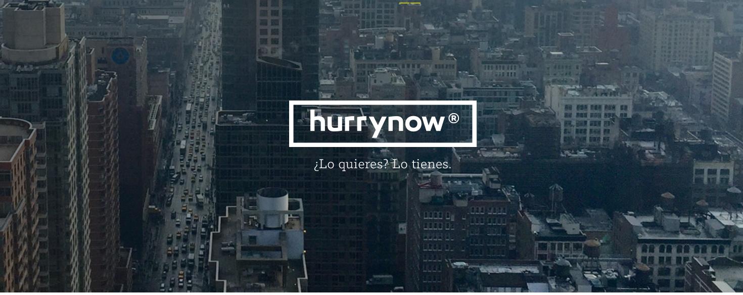 Página web de Hurrynow