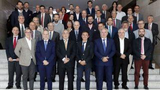 Alejandro Blanco presidió la reunión de federaciones en el COE.