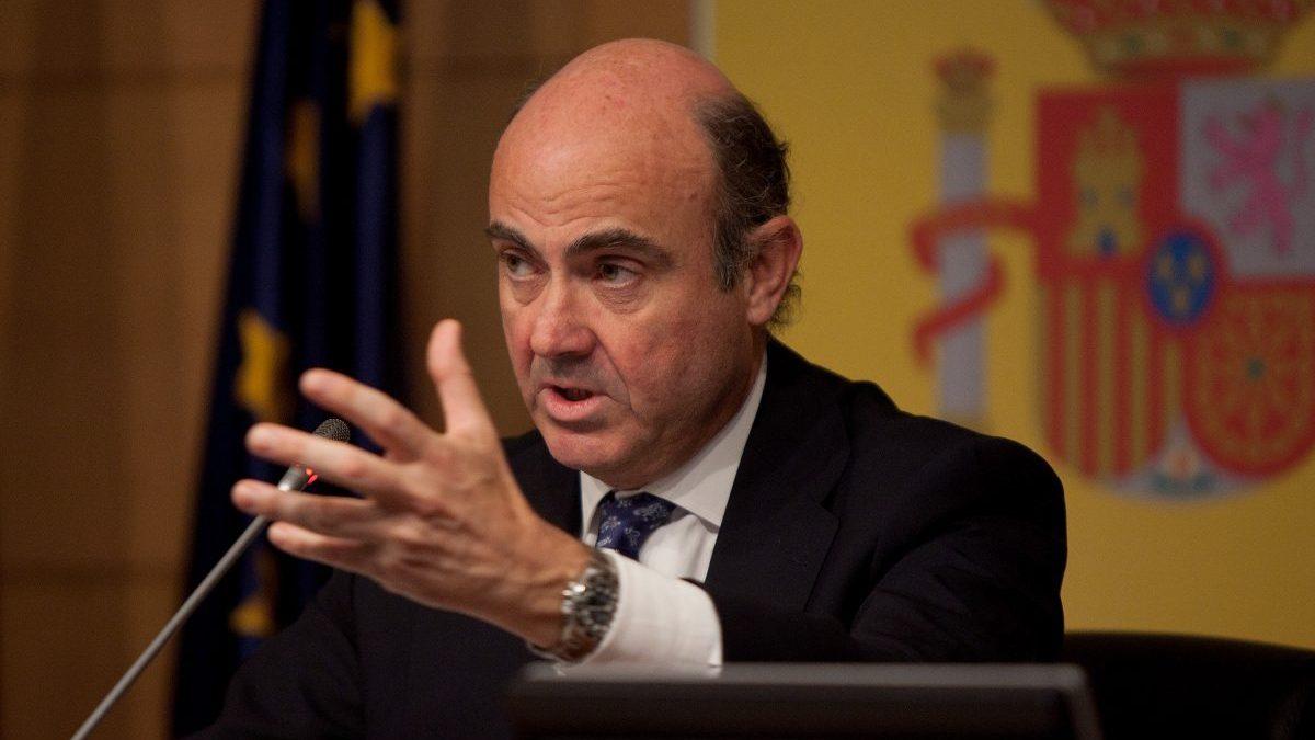 Luís de Guindos, ministro de Economía (Foto: Getty)