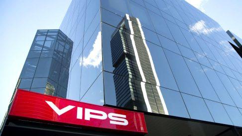 Fachada de la sede central del Grupo Vips en Madrid (Foto: Vips).