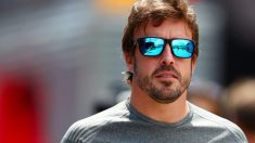 Fernando Alonso en Barcelona (Getty)