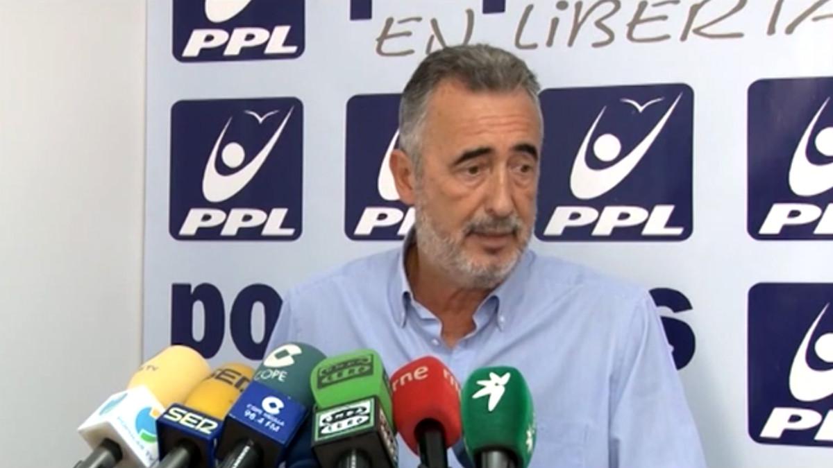 Ignacio Velázquez, ex presidente de Melilla y líder del PPL.