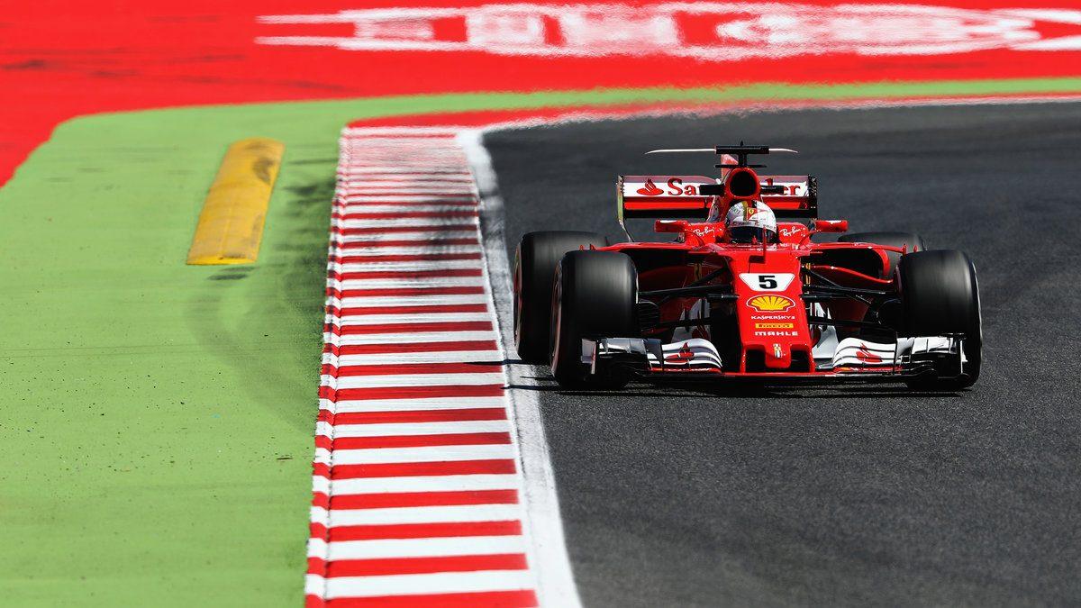 Sebastian Vettel a bordo del SF16H Getty)