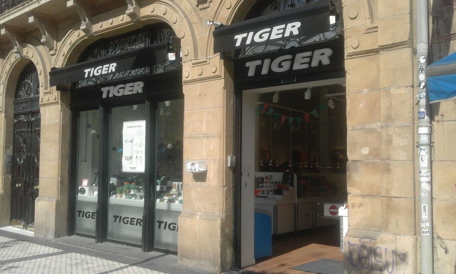 Establecimiento de Tiger.