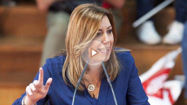 Susana Díaz asegura que su candidatura» va a más «porque da «confianza, seguridad y credibilidad»