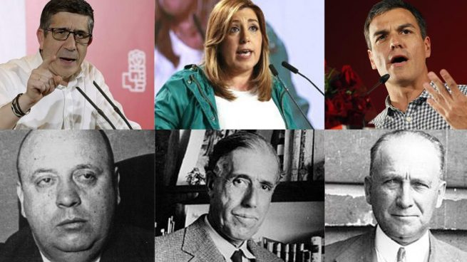 Pongamos que hablo del 36; de Largo Caballero, Besteiro y Prieto