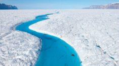 Los investigadores estudiarán los ríos helados de Groenlandia.