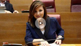 La portavoz de C's en las Corts valencianas, Mari Carmen Sánchez.