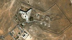 Vista aérea de la cárcel militar de Sednaya, al norte de Damasco (Siria).