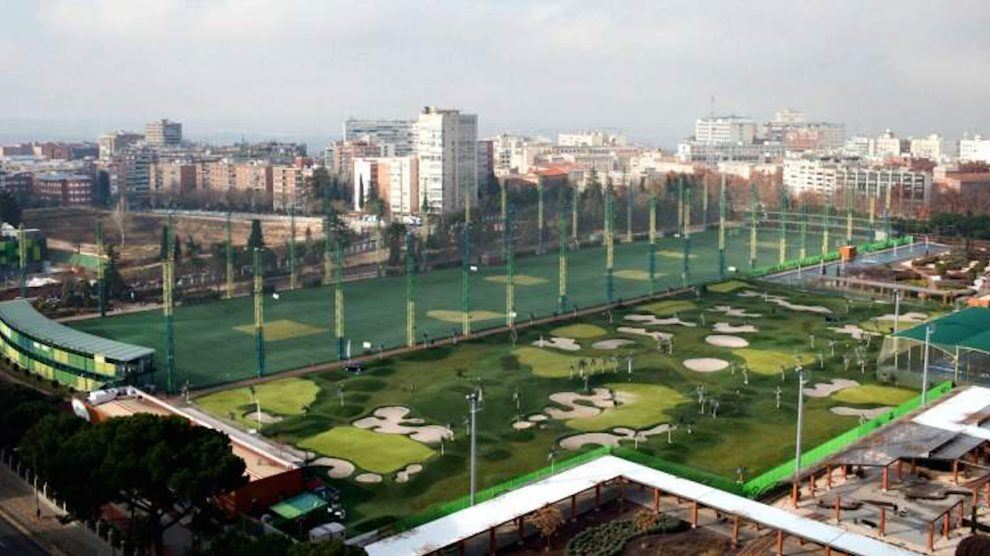Golf del Canal de Isabel II en Madrid.