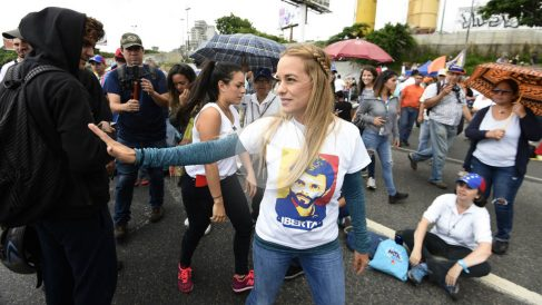 Lilian Tintori (Foto: AFP)