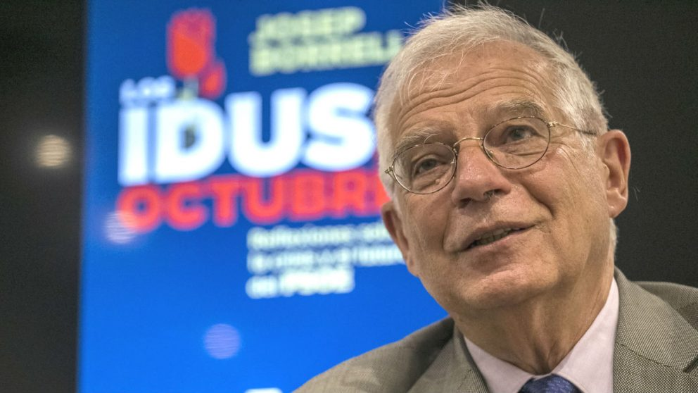 El ministro del PSOE, Josep Borrell. (Foto: EFE)