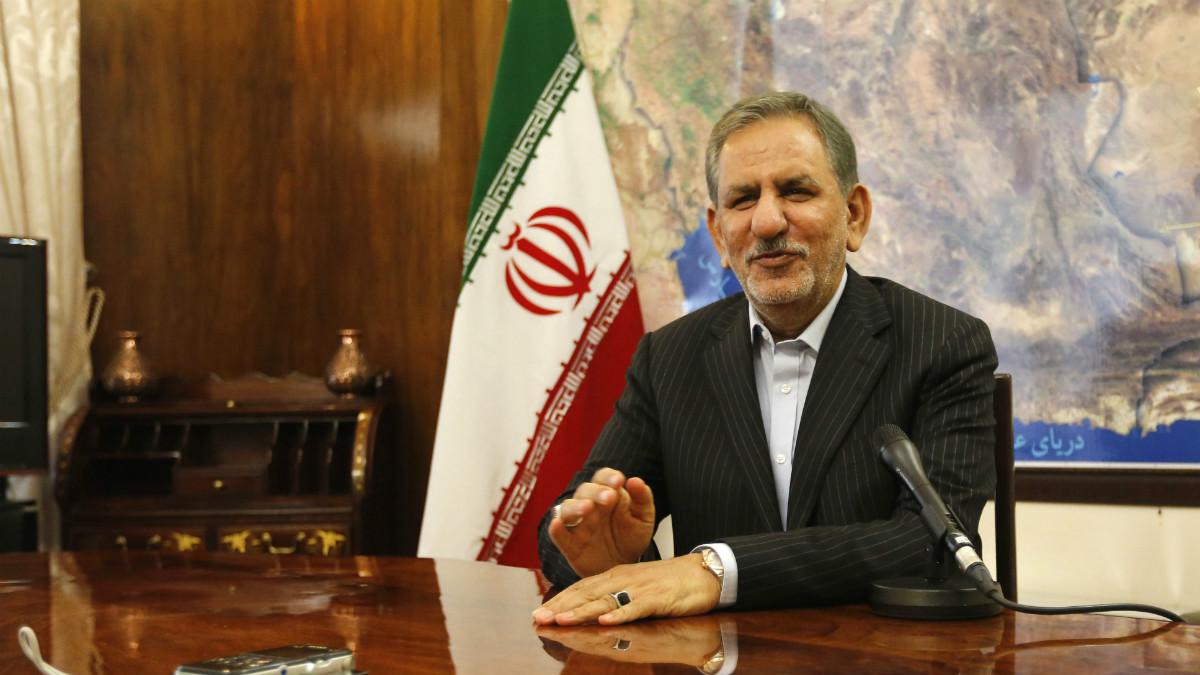 Eshaq Jahangiri, vicepresidente de Irán (Foto: AFP)