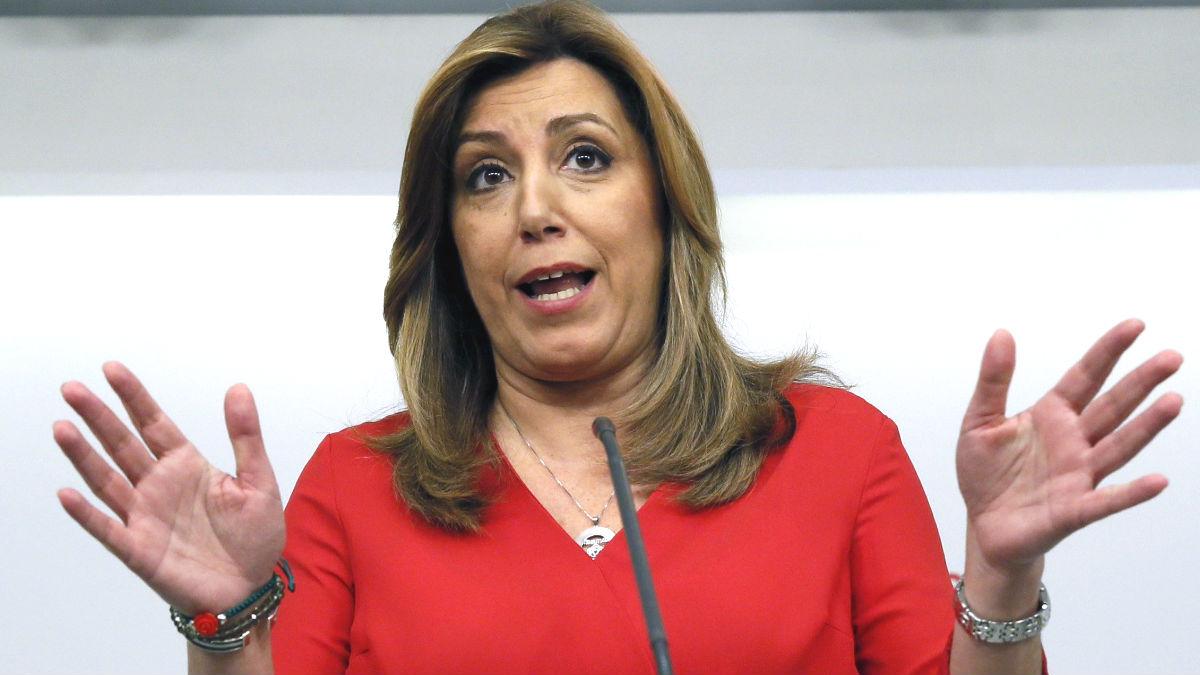 La presidenta de la Junta de Andalucía en funciones, Susana Díaz (Foto: EFE).