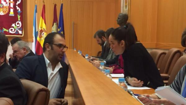 Los concejales de Ciudadanos en el Ayuntamiento de Talavera, Jonatan Bermejo y Montaña Palacios