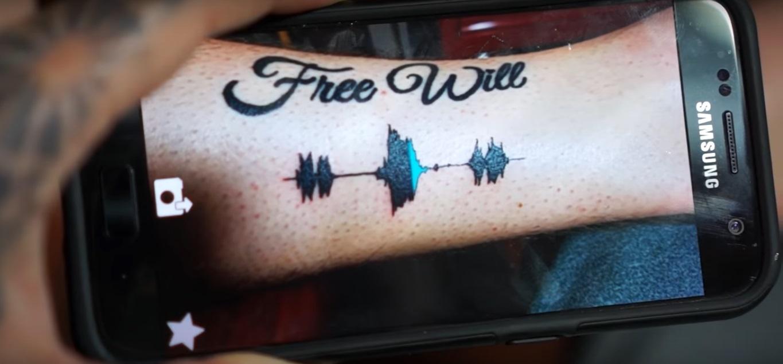 Los tatuajes del futuro se ven y se escuchan.