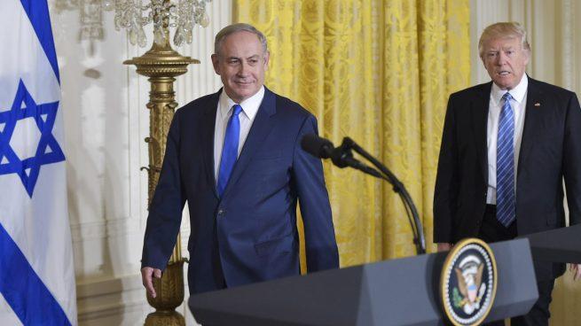 """El primer ministro israelí, Netanyahu, se felicita por la """"histórica"""" decisión de Trump"""