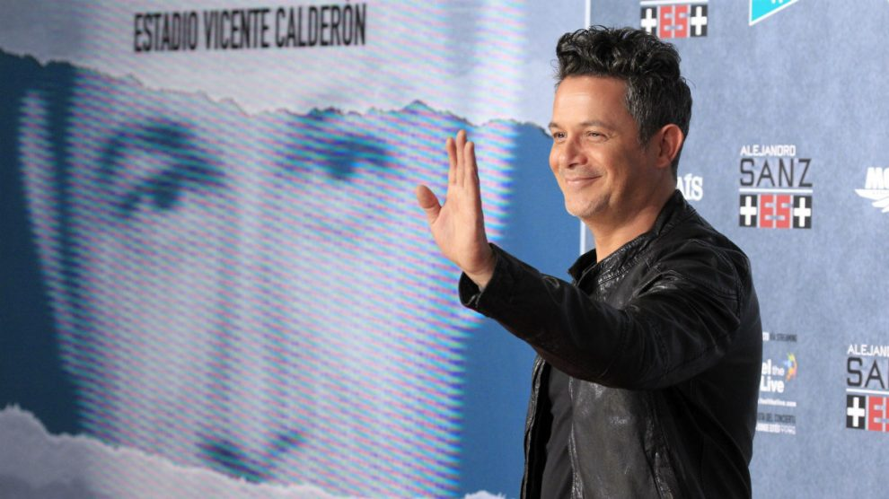 Alejandro Sanz en la presentación de 'Más es Más' (Foto:EFE)