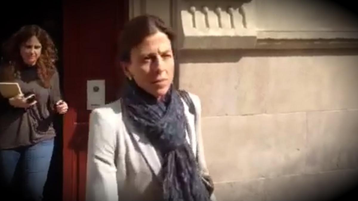 Anna María Vidal, esposa de Oriol Pujol.