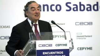 El presidente de la CEOE, Juan Rosell (Foto: EFE).