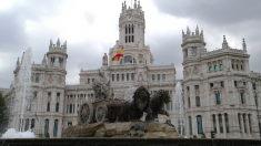 Fuente de Cibeles junto al Ayuntamiento de Madrid. (Foto: Madrid)