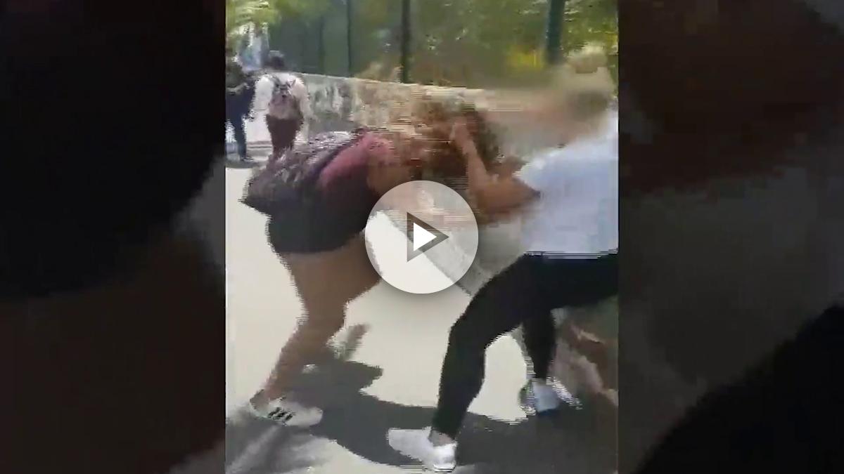 El brutal video que muestra la agresión a una niña de 13 años que sufre bullying