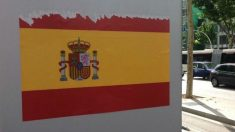 Barcelona apareció llena de banderas de España. (Foto: OKD)