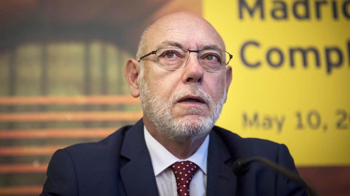 José Manuel Maza, fiscal general del Estado. (Foto: EFE)