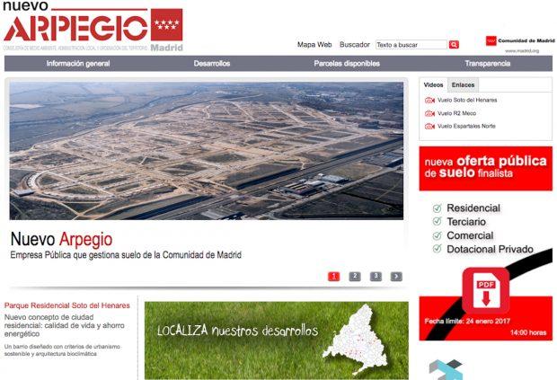 Nuevo Arpegio (Empresa del Suelo de la Comunidad de Madrid).