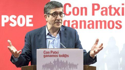 Patxi López este jueves en Sevilla (Foto: Efe).
