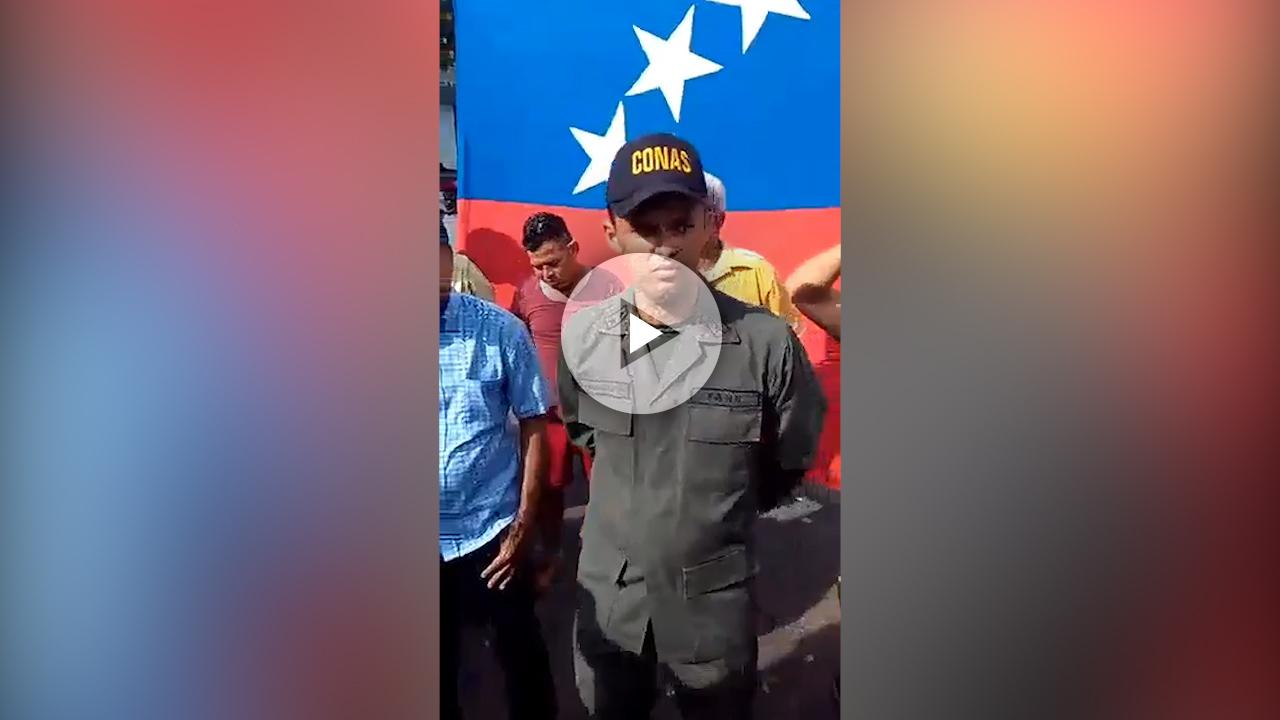 Paul Enrique Machado Briceño, de la GNB, quiere una Venezuela libre